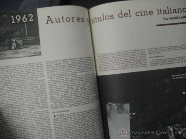 Cine: Revista de cine: film ideal Del nº 87 al 110 Año 1962, 24 números Año completo encuadernado gfa1 - Foto 11 - 52688536