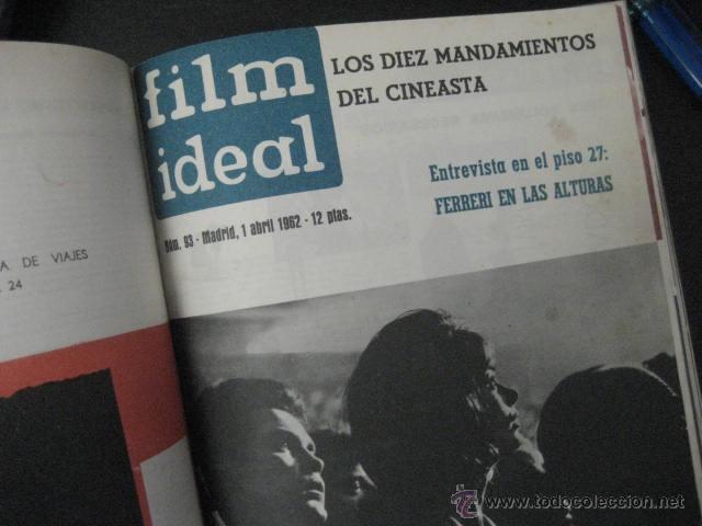 Cine: Revista de cine: film ideal Del nº 87 al 110 Año 1962, 24 números Año completo encuadernado gfa1 - Foto 13 - 52688536