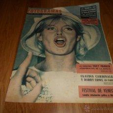 Cine: FOTOGRAMAS Nº 666 (1 SEPTIEMBRE 1961) BRIGITTE BARDOT, SOFIA LOREN, JONHY HALLYDAY, CARDINALE. Lote 52748035