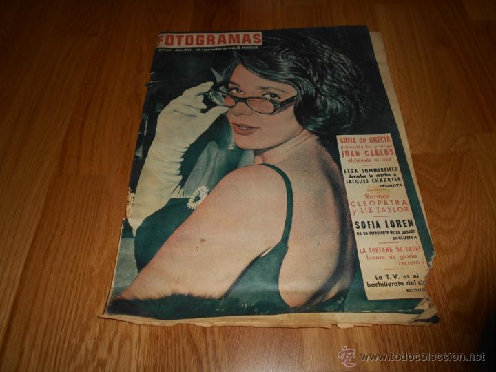 FOTOGRAMAS Nº 669 22 SEPTIEMBRE 1961 SUSAN STRASBERG LIZ TAYLOR SOFIA LOREN FONTANA TREVI BUEN PRECI (Cine - Revistas - Fotogramas)