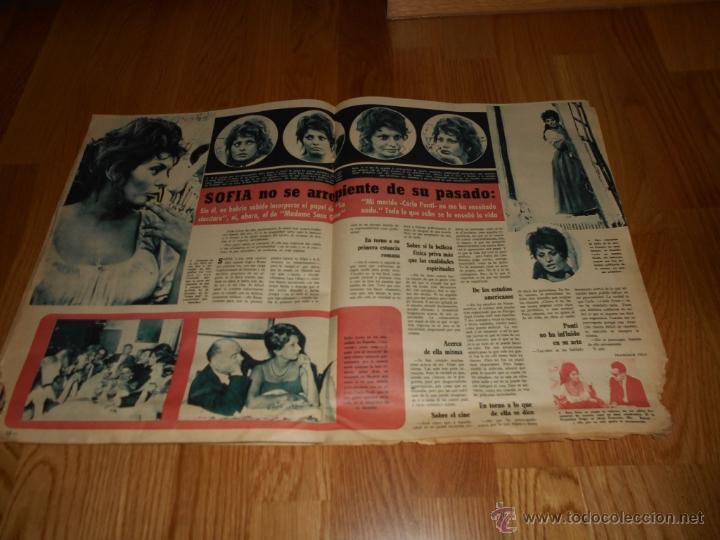 Cine: FOTOGRAMAS Nº 669 22 SEPTIEMBRE 1961 SUSAN STRASBERG LIZ TAYLOR SOFIA LOREN FONTANA TREVI BUEN PRECI - Foto 2 - 52748209
