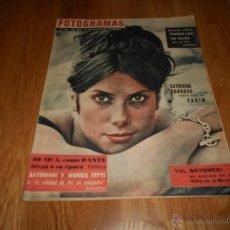 Cine: FOTOGRAMAS Nº 664 18 AGOSTO 1961 ( CATHERONE DENEUVE PORTADA, ADEMAS HOMENAJE A DALI Y OTROS RARA. Lote 52748549