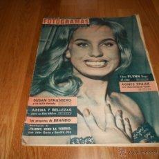 Cine: FOTOGRAMAS Nº 665 25 AGOSTO 1961 BARBARA VALENTIN SOFIA LOREN GLORIA SWANSON. Lote 52748635