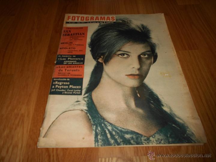 FOTOGRAMAS Nº 659 14 - JULIO - 1961 FESTIVAL SAN SEBASTIAN . CLAUDIA CARDINALE (Cine - Revistas - Fotogramas)