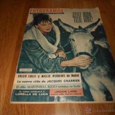 Cine: FOTOGRAMAS Nº 683 ( 29 DICIEMBRE 1961 ) LESLIE CARON, LORELLA DE LUCA, BARDOT. Lote 52749039