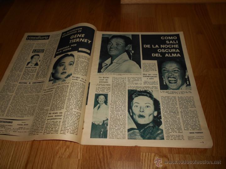 FOTOGRAMAS Nº 656 ( 23 - JUNIO - 1961 ) GRACE KELLY ,GENE TIERNEY , CLAUDIA CARDINALE (Cine - Revistas - Fotogramas)
