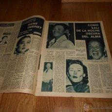 Cine: FOTOGRAMAS Nº 656 ( 23 - JUNIO - 1961 ) GRACE KELLY ,GENE TIERNEY , CLAUDIA CARDINALE. Lote 52749076
