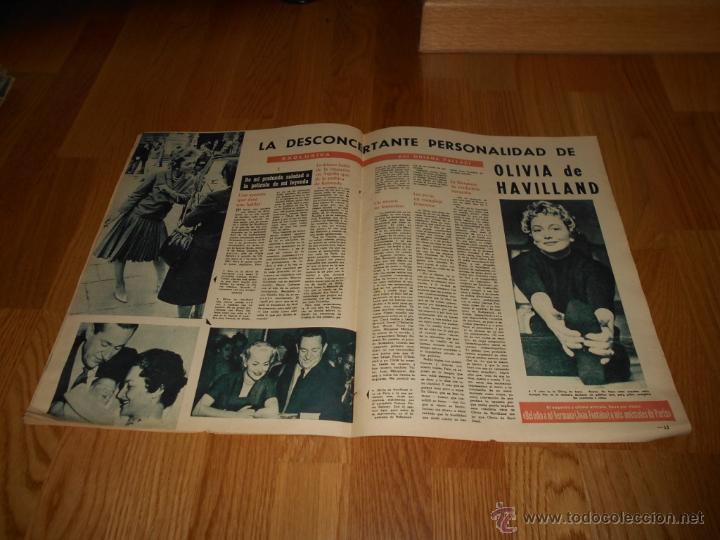 Cine: FOTOGRAMAS Nº 656 ( 23 - JUNIO - 1961 ) GRACE KELLY ,GENE TIERNEY , CLAUDIA CARDINALE - Foto 2 - 52749076
