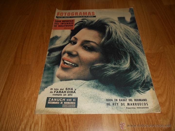 FOTOGRAMAS Nº 677 ( 17 NOVIEMBRE 1961 ) ZANUCH,ULLA JACOBSSON, SARA MONTIEL (Cine - Revistas - Fotogramas)