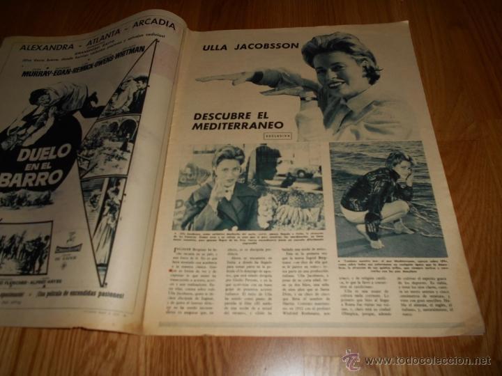 Cine: FOTOGRAMAS Nº 677 ( 17 NOVIEMBRE 1961 ) ZANUCH,ULLA JACOBSSON, SARA MONTIEL - Foto 2 - 52749302