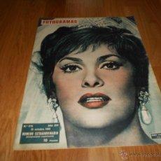 Cine: GINA LOLLOBRIGIDA GLORIA SWANSON REVISTA FOTOGRAMAS NUMERO 672 1961 NUMERO EXTRAORDINARIO PERFECTA. Lote 52749448