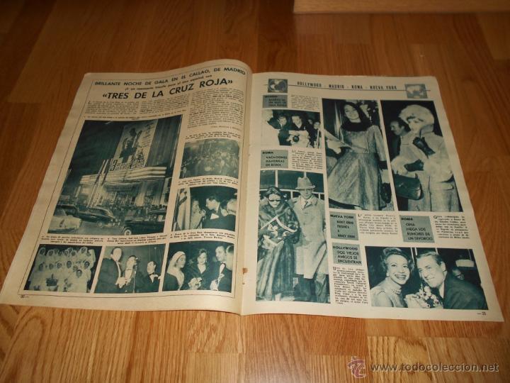 Cine: REVISTA FOTOGRAMAS NUMERO 681 EXTRAORDINARIO 15 12 1961 TRES DE LA CRUZ ROJA RARA - Foto 3 - 52749594