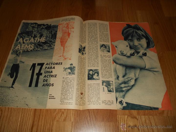 Cine: REVISTA FOTOGRAMAS NUMERO 681 EXTRAORDINARIO 15 12 1961 TRES DE LA CRUZ ROJA RARA - Foto 4 - 52749594