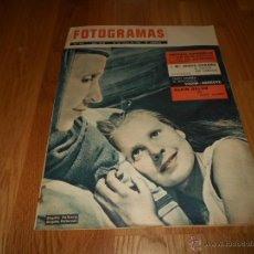 Cine: FOTOGRAMAS Nº 686 19 ENERO 1962 BIRGITTA VALBERG PETTERSON ALAIN DELON B.E.. Lote 52750468