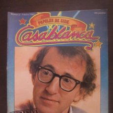 Cinema: REVISTA CASABLANCA Nº 2 PAPELES DE CINE / 1981 / FERNANDO TRUEBA / CARLOS BOYERO. Lote 52914621