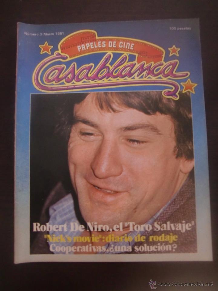 REVISTA CASABLANCA Nº 3 PAPELES DE CINE / 1981 / FERNANDO TRUEBA / CARLOS BOYERO (Cine - Revistas - Papeles de cine)