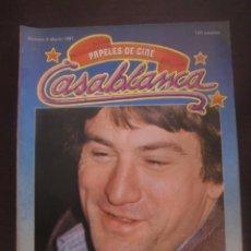 Cine: REVISTA CASABLANCA Nº 3 PAPELES DE CINE / 1981 / FERNANDO TRUEBA / CARLOS BOYERO. Lote 52914704