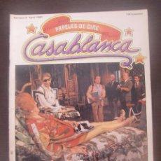 Cine: REVISTA CASABLANCA Nº 4 PAPELES DE CINE / 1981 / FERNANDO TRUEBA / CARLOS BOYERO. Lote 52914760