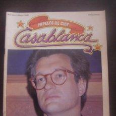 Cine: REVISTA CASABLANCA Nº 5 PAPELES DE CINE / 1981 / FERNANDO TRUEBA / CARLOS BOYERO. Lote 138055600