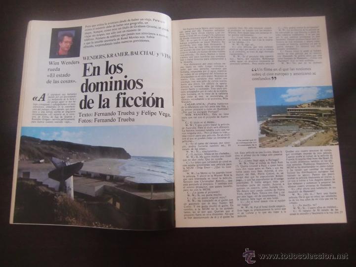Cine: revista CASABLANCA Nº 5 PAPELES DE CINE / 1981 / FERNANDO TRUEBA / CARLOS BOYERO - Foto 2 - 138055600