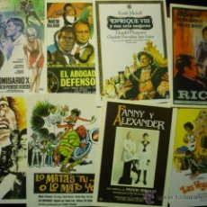 Cine: LOTE REPRODUCCIONES PELICULAS DIVERSAS AÑOS 70..80... Lote 52955806