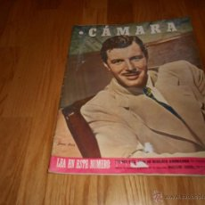 Cine: REVISTA DE CINE CAMARA 1946. Nº78. PORTADA: JAMES CRAIG. Lote 52962551