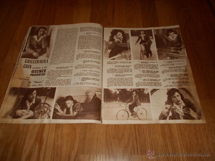 Cine: Revista de cine CAMARA 1946. Nº78. Portada: JAMES CRAIG - Foto 3 - 52962551