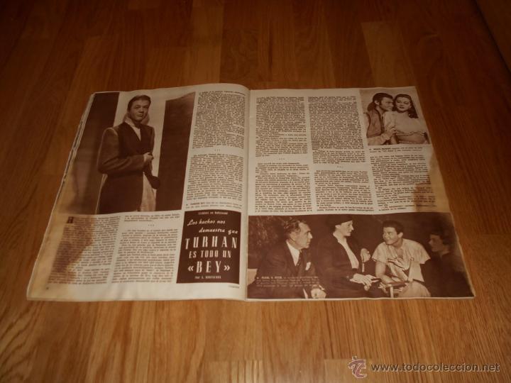 Cine: Revista de cine CAMARA 1946. Nº78. Portada: JAMES CRAIG - Foto 4 - 52962551