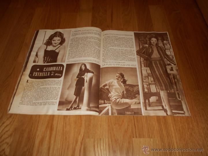 Cine: Revista de cine CAMARA 1946. Nº78. Portada: JAMES CRAIG - Foto 5 - 52962551