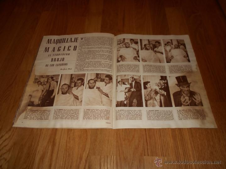 Cine: Revista de cine CAMARA 1946. Nº78. Portada: JAMES CRAIG - Foto 6 - 52962551