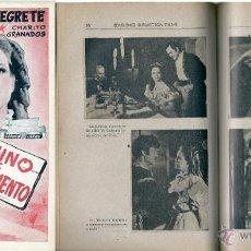 Cine: S009 - CAMINO DE SACRAMENTO-JORGE NEGRETE- EDICIONES BIBLIOTECA FILMS SERIE ESPECIAL Nº 117- ALAS. Lote 194597073