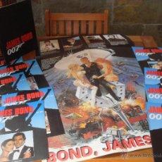 Cine: LOTE 10 REVISTAS JAMES BOND. 007. Nº 0,1,2,3,5,10,11,12,13,14 + CUBIERTA ENCUADERNAR. PLANETA 1995.. Lote 52943435