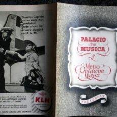 Cine: LO QUE EL VIENTO SE LLEVO - ESTRENO EN PALACIO MUSICA - METRO GOLDWYN MAYER. Lote 53175368