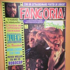 Cine: FANGORIA Nº 9, ED. ZINCO, REVISTA CINE TERROR HORROR GORE VIOLENCIA ACCION ERCOM. Lote 53300623