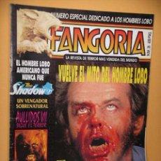 Cine: FANGORIA Nº 35, ED. ZINCO, REVISTA CINE TERROR HORROR GORE VIOLENCIA ACCION, Nº MUY DIFICIL ERCOM. Lote 53300782