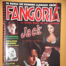 Cinema: FANGORIA Nº 10 (2ª ÉPOCA), MEGAMULTIMEDIA REVISTA CINE TERROR HORROR GORE VIOLENCIA ACCION C8. Lote 53300964