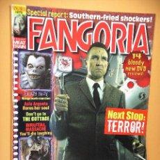 Cine: FANGORIA Nº 273 (EN INGLÉS) STARLOG GROUP REVISTA CINE TERROR HORROR GORE VIOLENCIA ACCION ERCOM C8. Lote 53301052