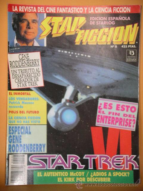 STAR FICCION Nº 8, ED. ZINCO, REVISTA CINE FANTASTICO ACCION CIENCIA FICCION STARLOG C8 (Cine - Revistas - Star Ficcion)