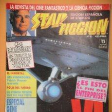 Cine: STAR FICCION Nº 8, ED. ZINCO, REVISTA CINE FANTASTICO ACCION CIENCIA FICCION STARLOG C8. Lote 53301627