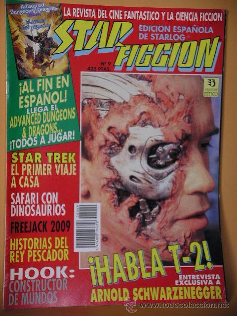 STAR FICCION Nº 9, ED. ZINCO, REVISTA CINE FANTASTICO ACCION CIENCIA FICCION STARLOG C8 (Cine - Revistas - Star Ficcion)