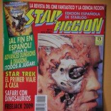 Cine: STAR FICCION Nº 9, ED. ZINCO, REVISTA CINE FANTASTICO ACCION CIENCIA FICCION STARLOG C8. Lote 53301672