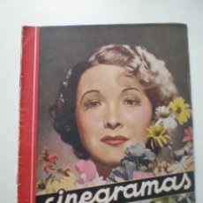 Cine: CINEGRAMAS AÑO 1 Nº 7 MADRID 28 OCT 1934 // REVISTA CINE HELEN TWELVETREES MARY BELL ART DECO . Lote 53447975