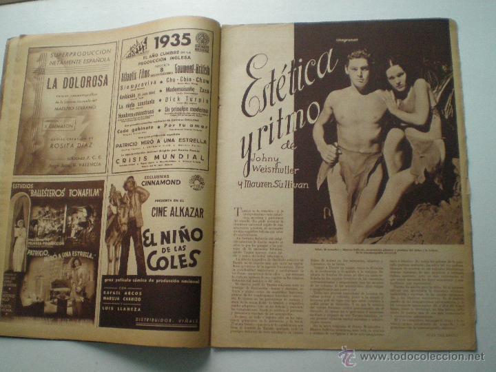 Cine: CINEGRAMAS AÑO 1 Nº 7 MADRID 28 OCT 1934 // REVISTA CINE HELEN TWELVETREES MARY BELL ART DECO - Foto 5 - 53447975