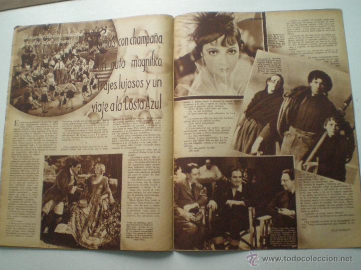 Cine: CINEGRAMAS AÑO 1 Nº 7 MADRID 28 OCT 1934 // REVISTA CINE HELEN TWELVETREES MARY BELL ART DECO - Foto 6 - 53447975