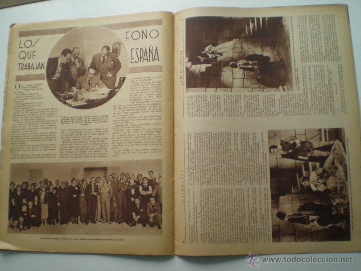 Cine: CINEGRAMAS AÑO 1 Nº 7 MADRID 28 OCT 1934 // REVISTA CINE HELEN TWELVETREES MARY BELL ART DECO - Foto 7 - 53447975