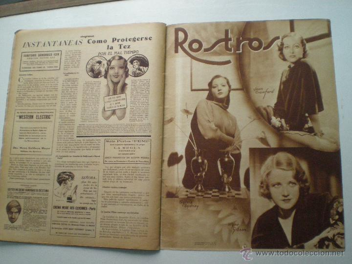 Cine: CINEGRAMAS AÑO 1 Nº 7 MADRID 28 OCT 1934 // REVISTA CINE HELEN TWELVETREES MARY BELL ART DECO - Foto 8 - 53447975