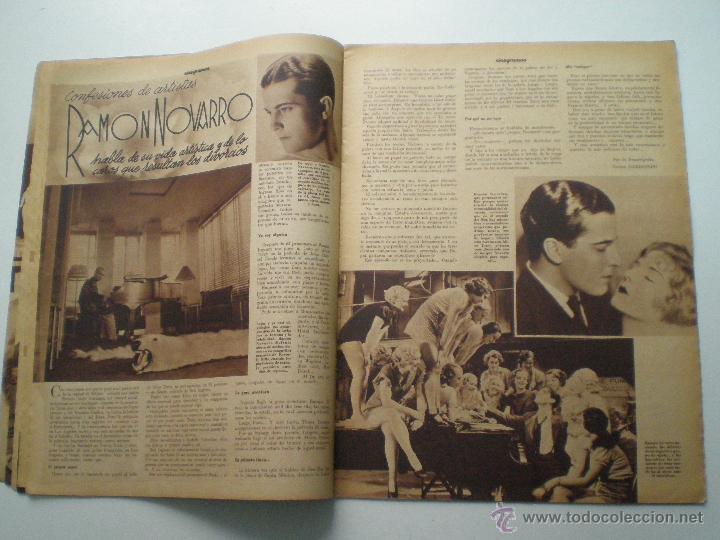 Cine: CINEGRAMAS AÑO 1 Nº 9 MADRID 11 NOV 1934 // REVISTA CINE CLAUDETTE COLBERT RONALD COLMAN ART DECO - Foto 6 - 53448162