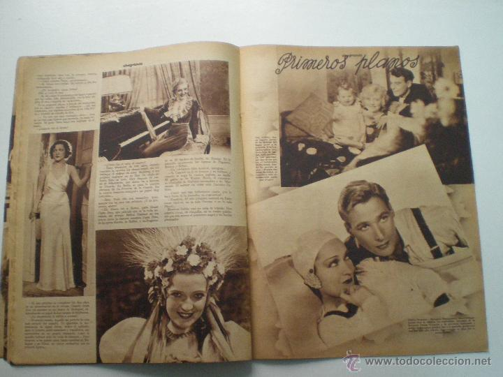 Cine: CINEGRAMAS AÑO 1 Nº 9 MADRID 11 NOV 1934 // REVISTA CINE CLAUDETTE COLBERT RONALD COLMAN ART DECO - Foto 8 - 53448162