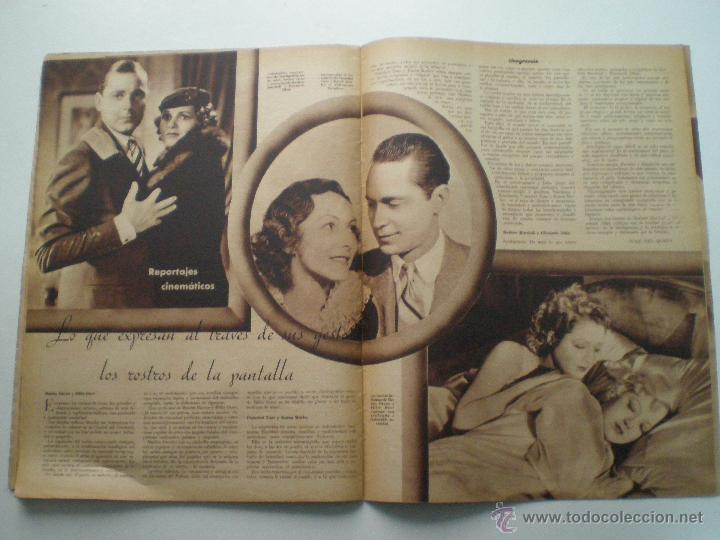 Cine: CINEGRAMAS AÑO 1 Nº 9 MADRID 11 NOV 1934 // REVISTA CINE CLAUDETTE COLBERT RONALD COLMAN ART DECO - Foto 9 - 53448162