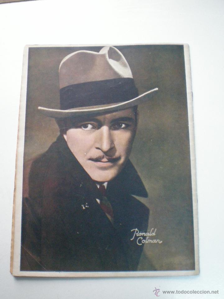 Cine: CINEGRAMAS AÑO 1 Nº 9 MADRID 11 NOV 1934 // REVISTA CINE CLAUDETTE COLBERT RONALD COLMAN ART DECO - Foto 11 - 53448162